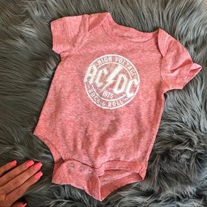 Other - NWOT AC/DC ONSIE 👶🏻CHECK AVAIL SIZING